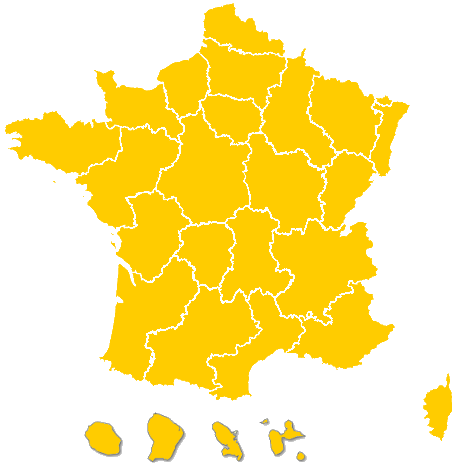 carte de france personnalisable